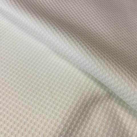 Ткань хлопок пике белый 2015