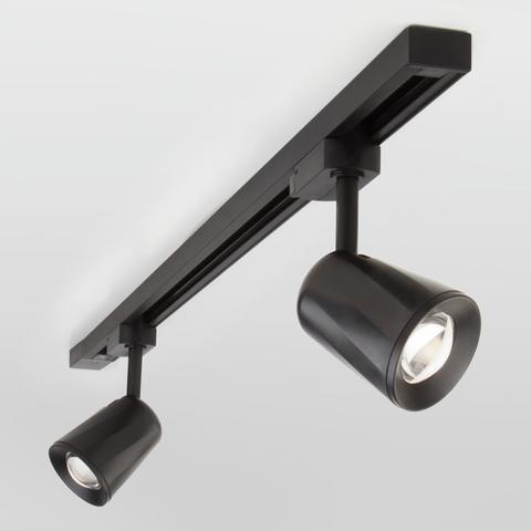 Трековый светодиодный светильник для однофазного шинопровода Joli Черный 9W 4200K LTB19