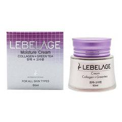 Lebelage Collagen + Green Tea Moisture Cream - Увлажняющий крем с коллагеном и зеленым чаем