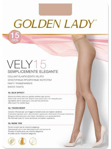 Колготки Vely 15 Golden Lady
