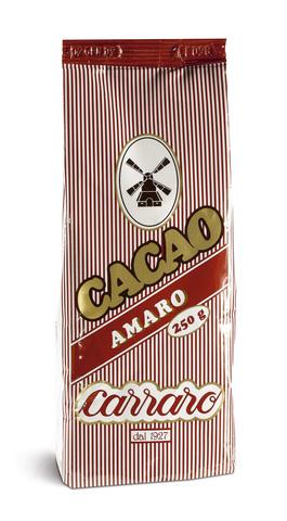 Carraro Bitter Cocoa чистое какао 250г.