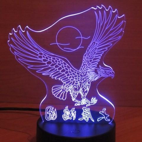 Светильники 3D Орёл