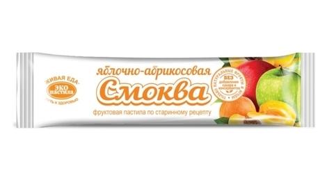 Пастила СМОКВА яблочно-абрикосовая, 30 гр. (Эко пастила)