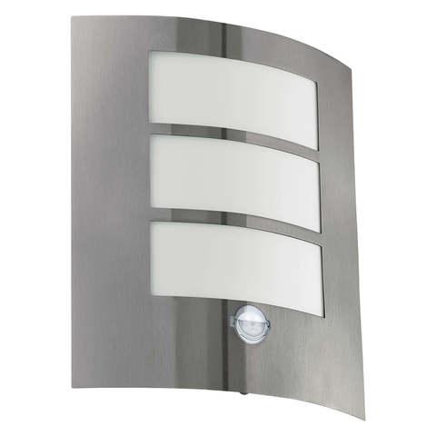 Уличный светильник с датчиком движения Eglo CITY 88142