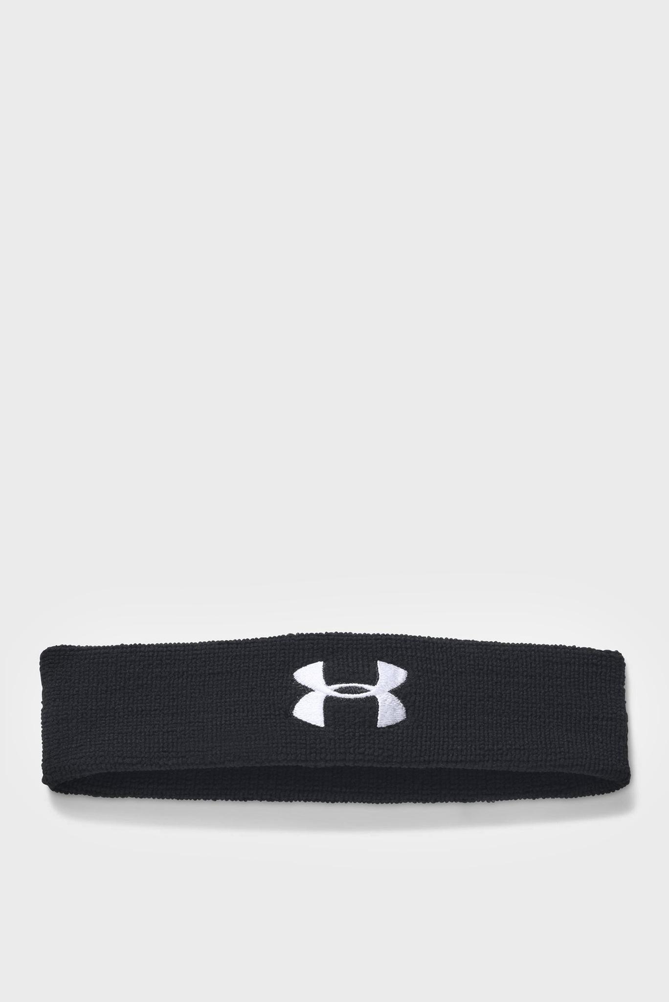 Мужская черная повязка Performance Headband Under Armour
