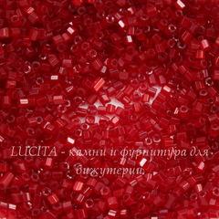 95081 Бисер Preciosa рубка 10/0, красный сатин