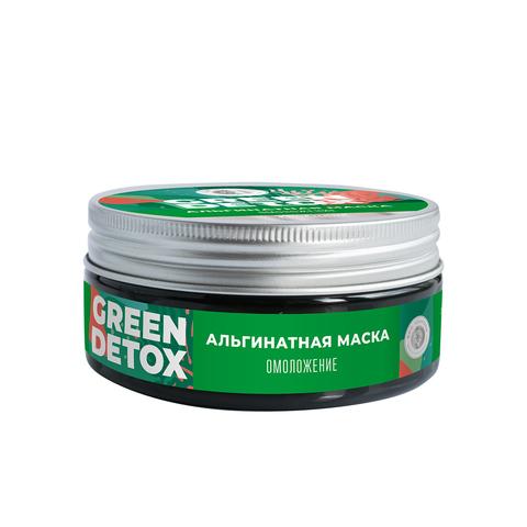МДП Альгинатная маска Green Detox Омоложение, 60г