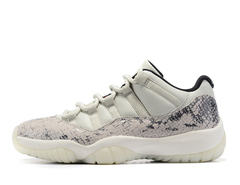 Air Jordan 11 Low Snakeskin 'Light Bone'