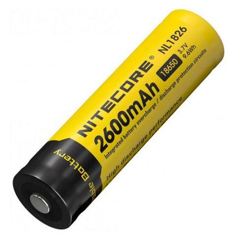 Аккумулятор Nitecore Rechargeable NL1826 18650 Li-Ion 2600mAh (9324)