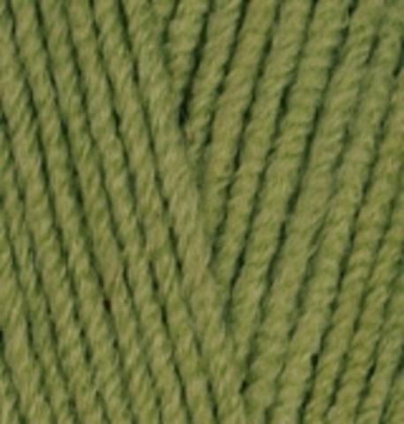 Пряжа Lanacoton Alize 485 Зеленый, фото