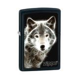 Зажигалка ZIPPO White Wolf Black Matte (28303)