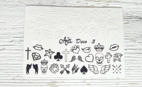 Слайдер Arti 3D Deco № 003