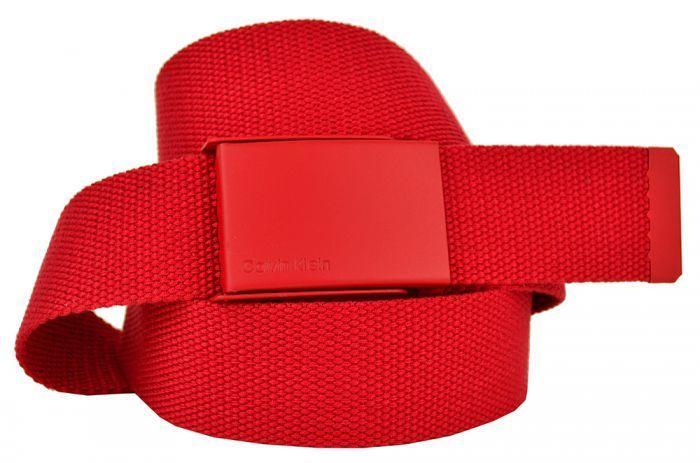 Ремень текстильный красный стропа 4 см 40Stropa-CK-002-1