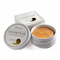 Esthetic House Gold & Snail Hydrogel Eye Patch - Гидрогелевые патчи с золотом и муцином улитки
