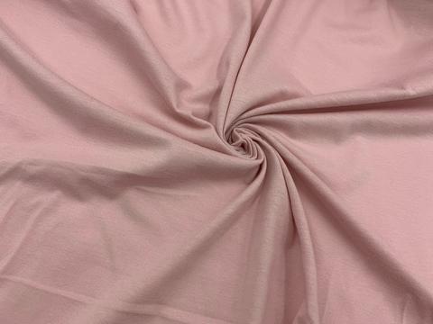 Хлопок кулирка пыльно-розовый