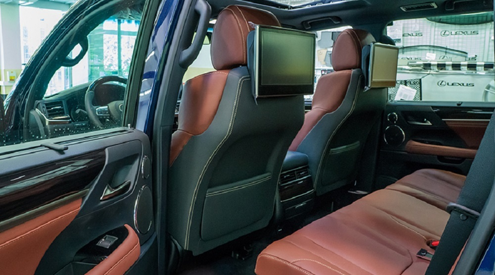MBS Rear Smart Seats for Lexus LX570