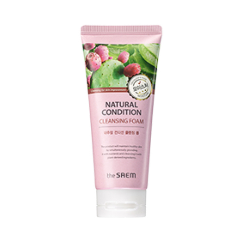 SAEM Natural Condition Пенка для умывания увлажняющая NATURAL CONDITION Cleansing Foam Moisture 150 мл