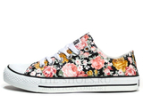 Кеды Converse All Stars Chuck Taylor Low Dark Flowers
