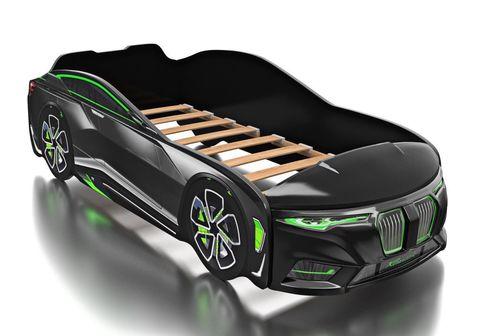 Кровать-машина Romack Boxter черный