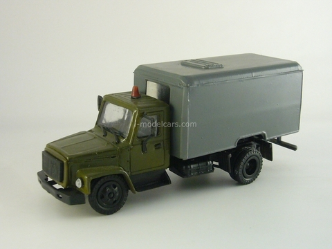 GAZ-3307 ZAK transport of prisoners Kompanion 1:43