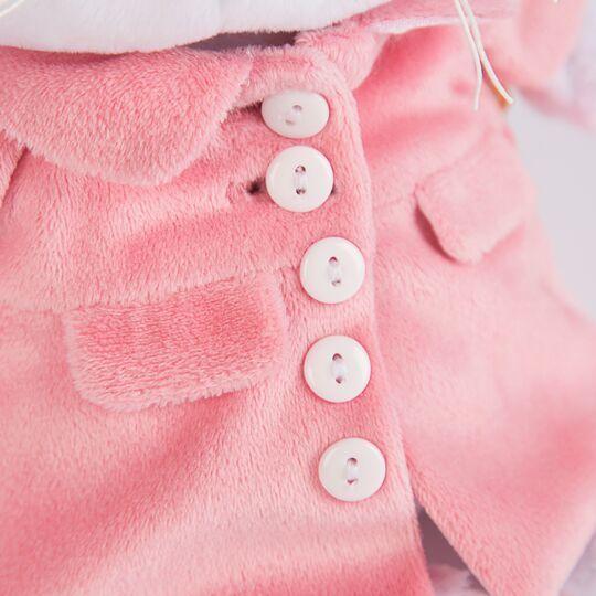 Ли-Ли Baby в розовом пальто
