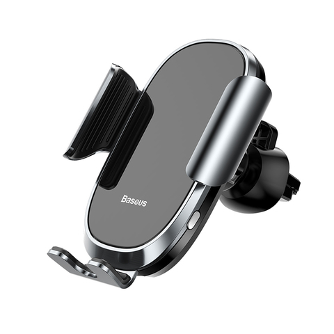 Держатель Baseus Smart Car Mount Cell (Sugent-ZN01/ZN03/ZN0S) Silver