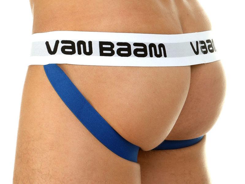 Мужские трусы джоки белые Van Baam 39815