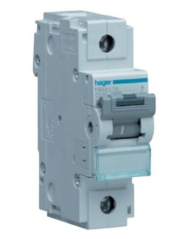 Автоматический выключатель 1P 50kA C-25A 1.5M