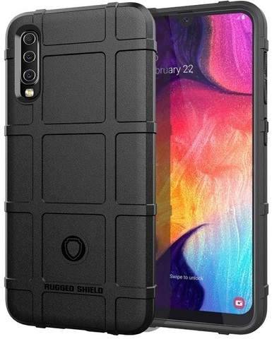 Чехол Samsung Galaxy A50 (Galaxy A30S, A50S) цвет Black (черный), серия Armor, Caseport