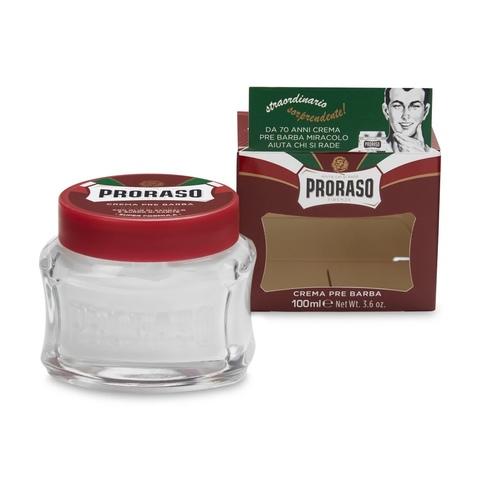 Крем до бритья (прешейв) Proraso Красный сандал  100 мл