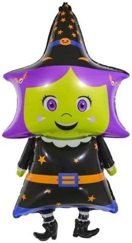 Фольгированный шар Маленькая ведьмочка