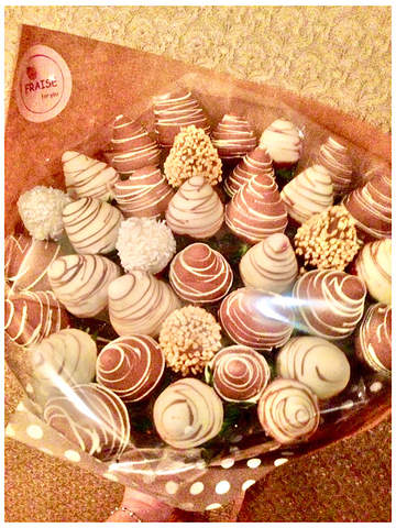 Букет из Клубники в Шоколаде, 35 ягод