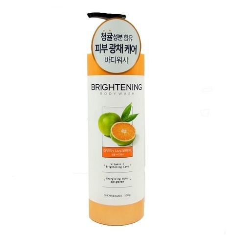 Гель для душа Зеленый мандарин Shower Mate Brighten Green Tangerine Body Wash 500г