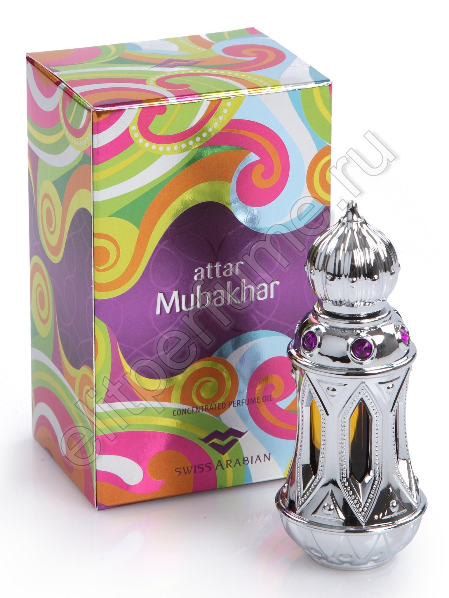 Пробники для арабских духов Аттар Мубахар Attar Mubakhar 1 мл арабские масляные духи от Свисс Арабиан Swiss Arabian