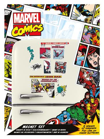 Набор магнитов Marvel