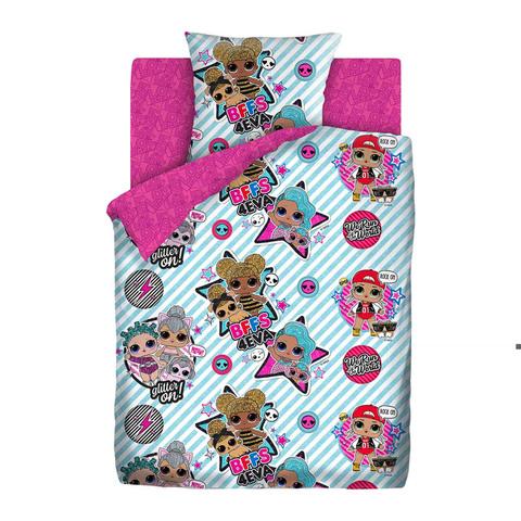Комплект постельного белья LOL Surprise! (Stars) 1,5