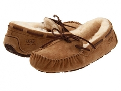 UGG Moccasins Dakota for Women Chestnut (с мехом)