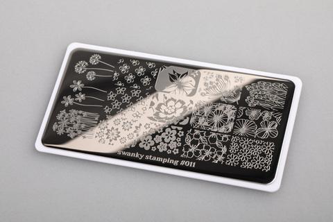 Пластина Swanky Stamping 011