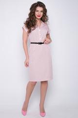 <p>Стильное платье на каждый день. Ворот на стойке. Рукав реглан с манжетом. Силуэт свободный, с разрезами по бокам.</p>