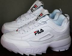 Fila disruptor 2 оригинал Fila Disruptor 2 all white RN-91175