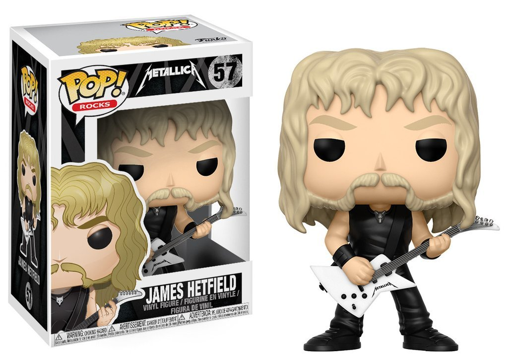 Фигурка Funko POP! Vinyl: Rocks: Metallica: James Hetfield 13806