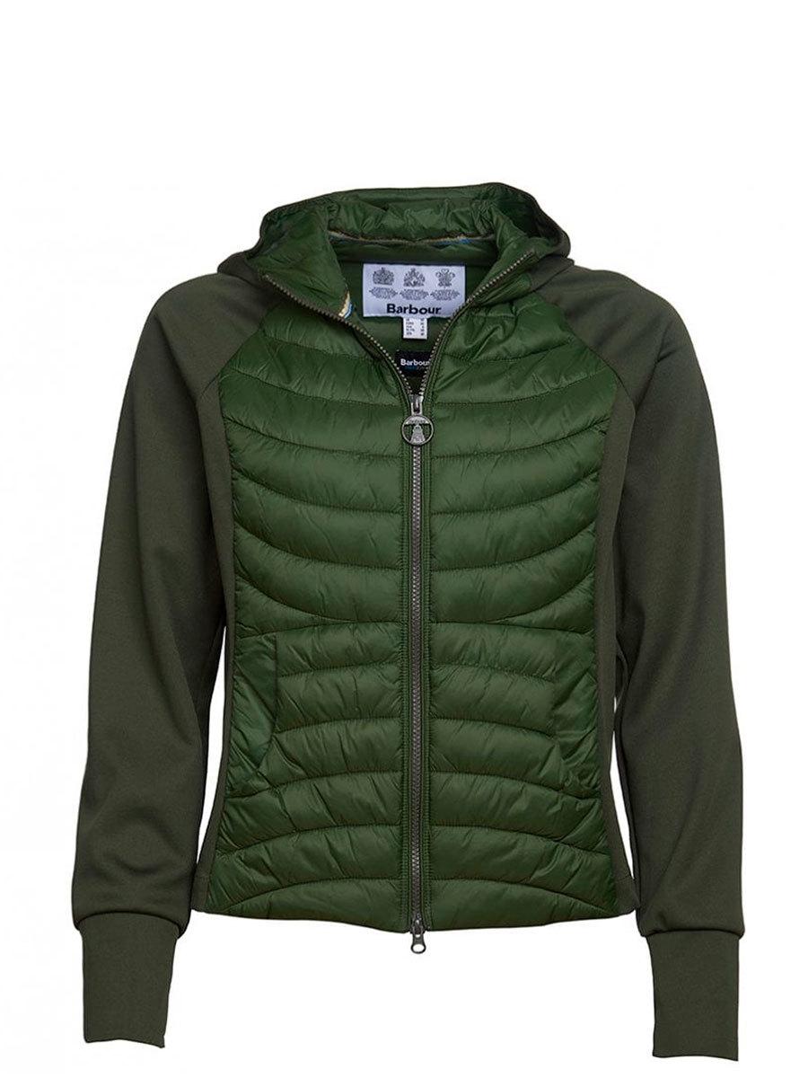 Barbour куртка Pier Sweat 0207/GN57 - Фото 1