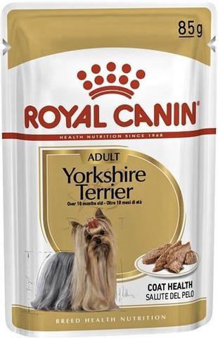 Royal Canin пауч для собак породы Йоркширский терьер (паштет) 85 г