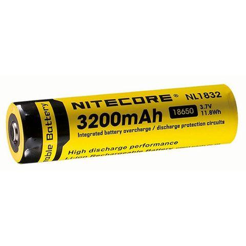 Аккумулятор Nitecore Rechargeable NL1832 18650 Li-Ion 3200mAh (10386)