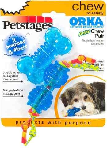 Petstages набор из двух игрушек для собак мелких пород