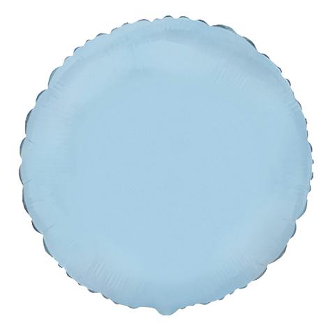 Шар-круг Голубой, 45 см