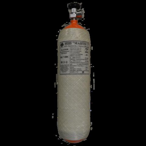 Баллон БК-7-300С/Т с вентилем CR AIR без манометра