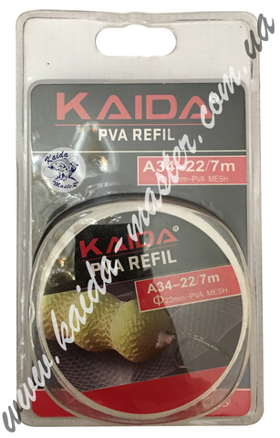 Kaida PVA REFIL сетка для прикормки A-34-16 7m