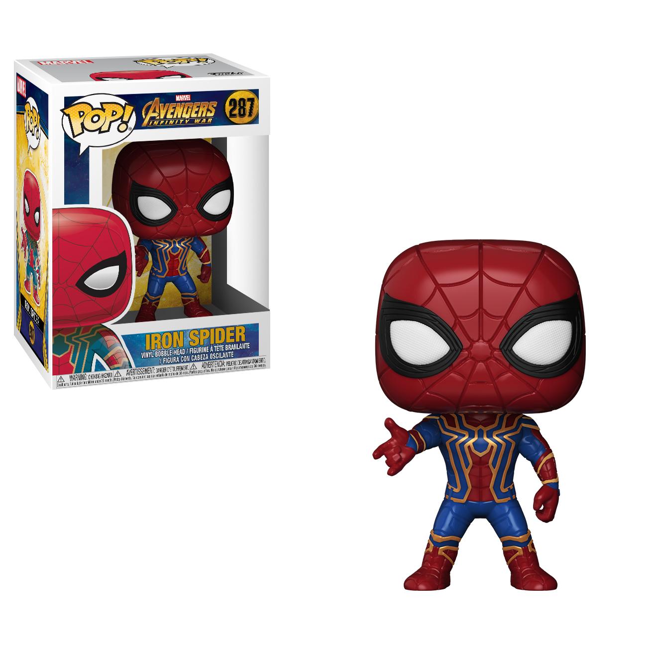Фигурка Funko POP! Bobble: Marvel: Avengers Infinity War: Iron Spider 26465
