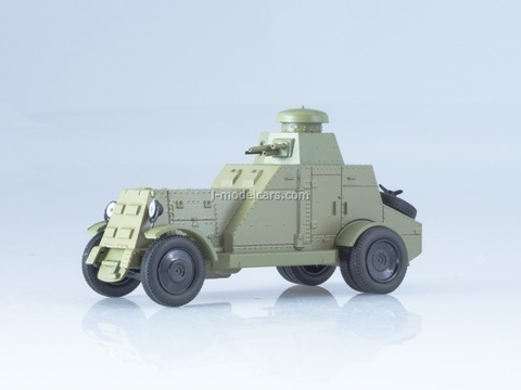 BA-27 armored car 1928-1931 1:43 DeAgostini Auto Legends USSR #237